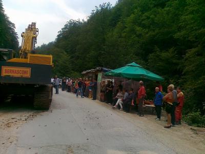 Spriječen pokušaj gradnje MHE Luke 2012-2013 godine