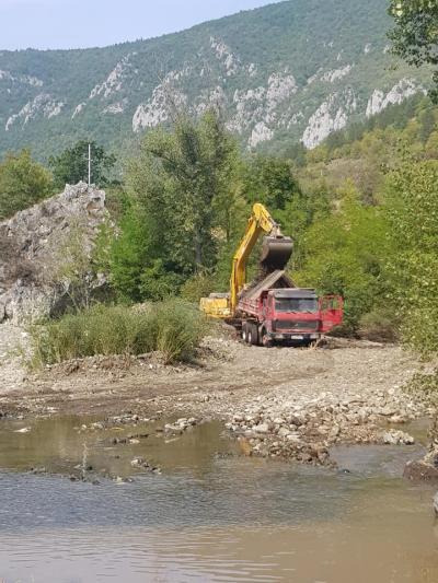 Izgradnja MHE Jablanica, Foto: FB