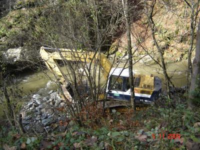 Spriječen pokušaj gradnje MHE Luke 2009 godine