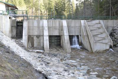Vodozahvat MHE Botašnica – ušće