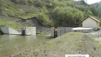 MHE Bistričak - vodozahvat