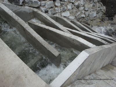 Vodozahvat MHE Botašnica – ušće, riblja staza