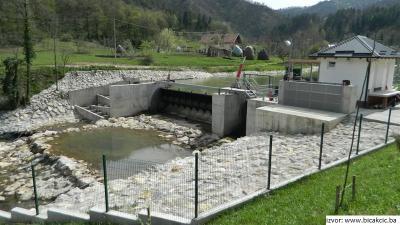 MHE Čardak - vodozahvat