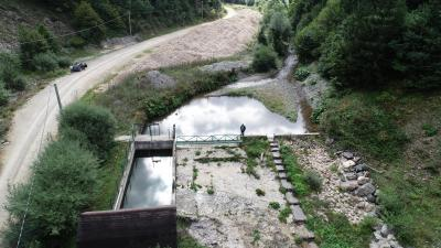 Vodozahvat MHE Duboki potok