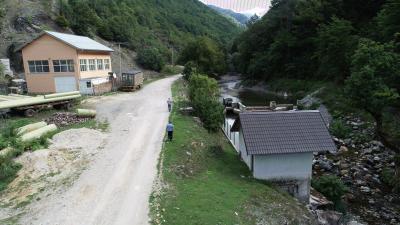 Strojara MHE Dubrava i vodozahvat MHE Ružnovac