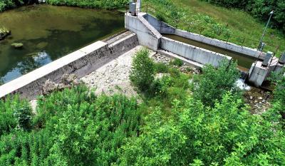 Vodozahvat MHE Jezernica 2020 godine