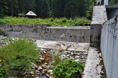 Vodozahvat MHE Jezernica 2020