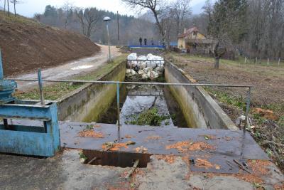 Vodozahvat dovodnog kanala