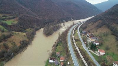 Lokacija planirane gradnje HE Janjići