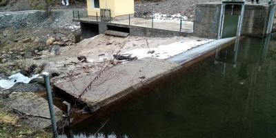 Vodozahvat MHE Brestavni potok