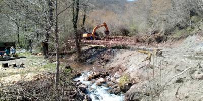 Gradnja MHE Mala Bjelava 16.04.2020