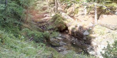 Korito Ivančice ispod vodozahvata