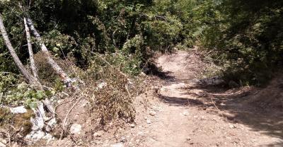 Probijanje pistupnih puteva do rijeke Volujak