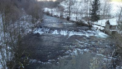 Rijeka Lepenica, Toplica - Kiseljak