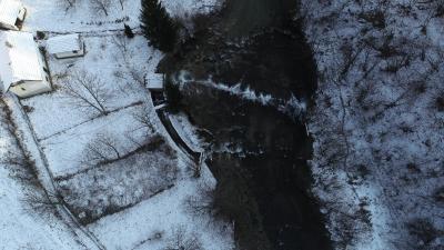 Slap na rijeci Lepenici - Toplica