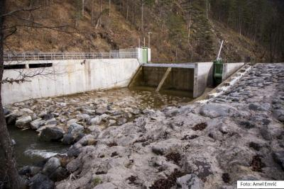 Vodozahvat MHE Kamenica