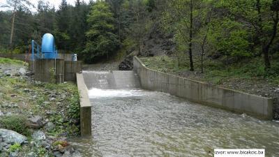 MHE Paklenica - vodozahvat
