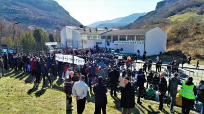 Protesti protiv gradnje MHE u dolini Neretvice, 22.02.2020