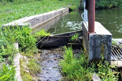 Zatvorena riblja staza na vodozahvatu MHE Vileška