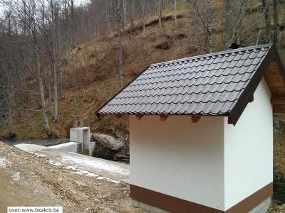 Vodozahvat MHE Veliki Duboki Potok