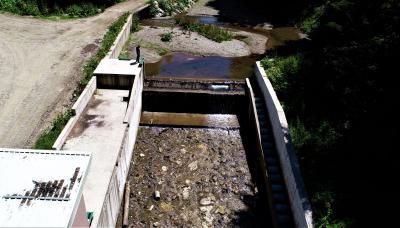 Vodozahvat MHE Željeznica 4